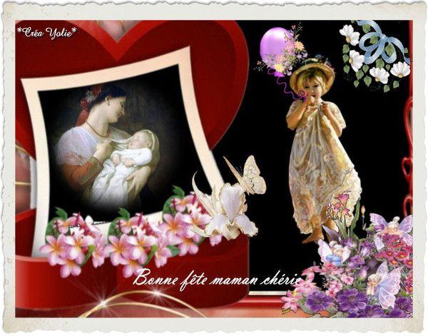 Bonne fête aux mamans de France et ailleurs