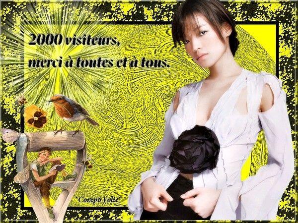 2000 visiteurs